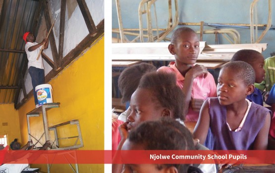 Njolwe Community School Pupils