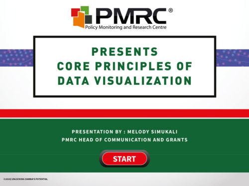 Core Principles of Data Visualization – University of Zambia Presentation