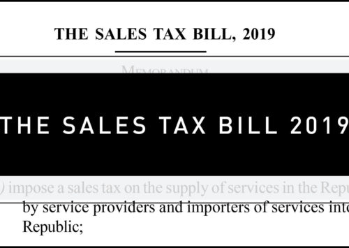 The Sales Tax Bill 2019 – Did you know
