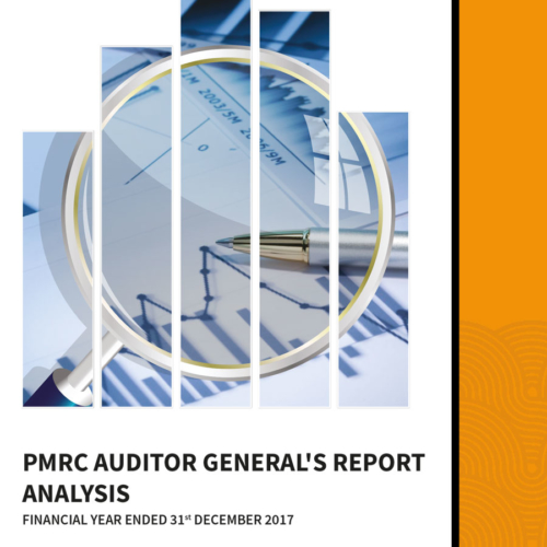 PMRC Auditor General's Report Analysis for the Financial Year Ended 31st December 2017