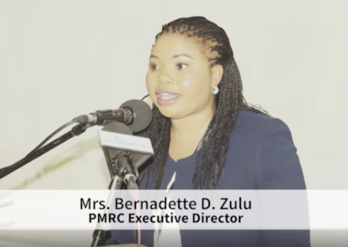 AFRICA-CHINA THINK TANKS FORUM – PMRC EXECUTIVE DIRECTOR, MRS. BERNADETTE D. ZULU SPEECH