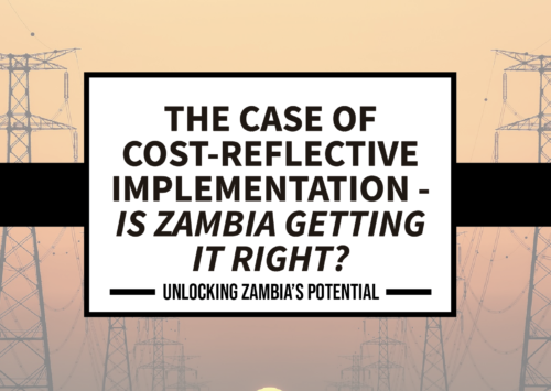 BLOG – The Case for Cost Reflective Implementation – Is Zambia getting it Right?