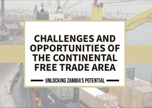 BLOG – Challenges and Opportunities of the Continental Free Trade Area