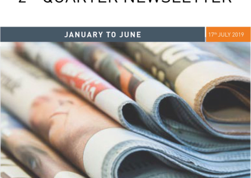 PMRC Newsletters – Jan – Jun  Second Quarter 2019