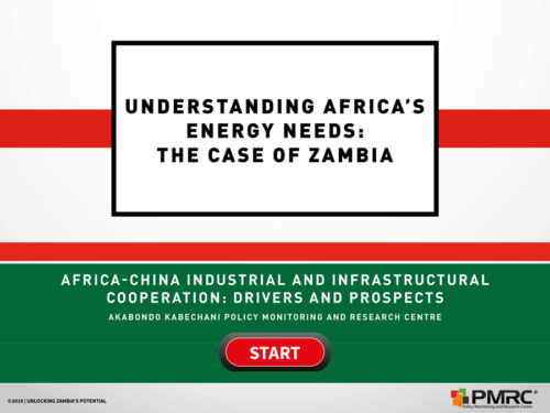 Understanding Africa's Energy Needs- The Case of Zambia – Presentation