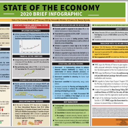 State of the Economy 2020 Brief Infographic