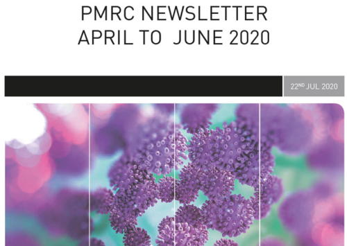 PMRC Newsletter – April to June 2020
