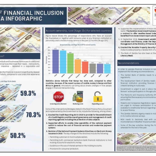 State of Financial Inclusion in Zambia Infographic