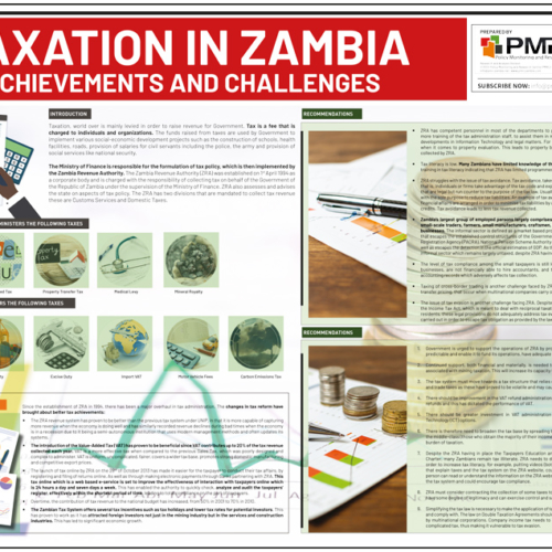 Taxation in Zambia Achievements and Challenges