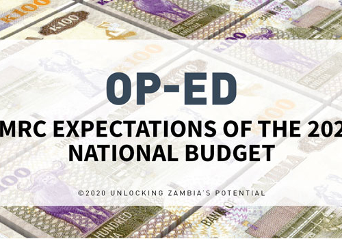 OP-ED: PMRC Expectations of the 2021 National Budget