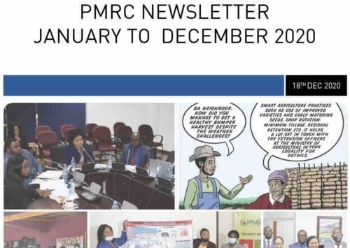 PMRC Newsletter – January to December 2020