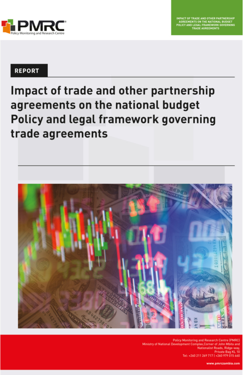 Presentation – Impact Of Trade And Other Partnership Agreements On The National Budget Policy And Legal Framework Governing Trade Agreements
