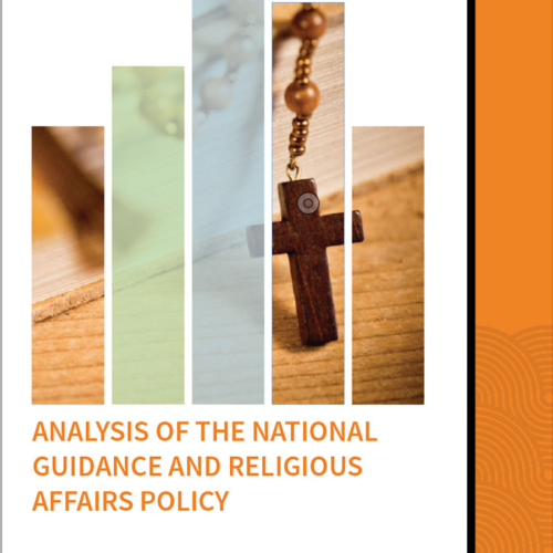 An Analysis of the National Guidance and Religious Affairs Policy  – Analysis