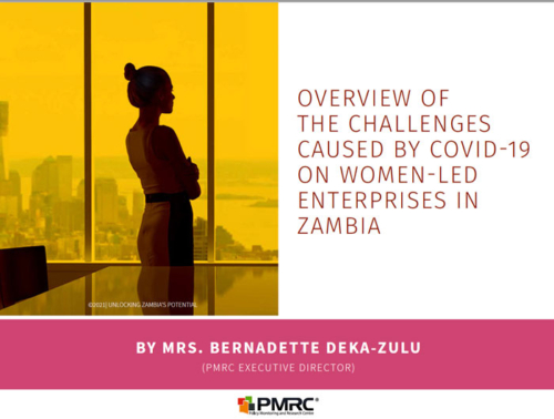 PMRC Presentation – Overview of Challenges of Women-led Enterprises