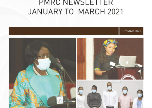 PMRC Newsletters January – March 2021