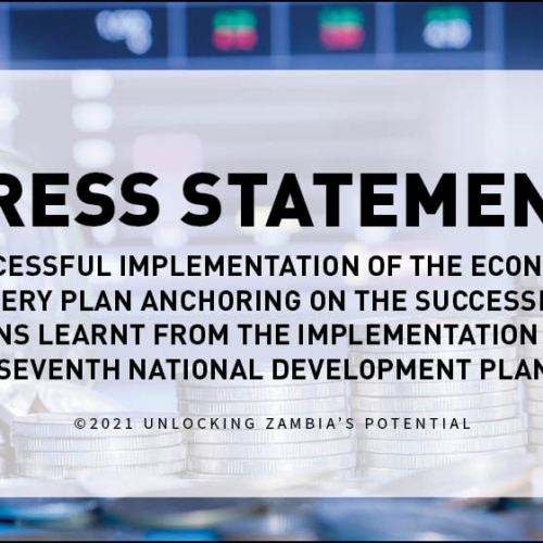 PMRC Press Statement – Successful Implementation of the Economic Recovery Plan Anchoring on the Successes and Lessons Learnt from the Implementation of the Seventh National Development Plan