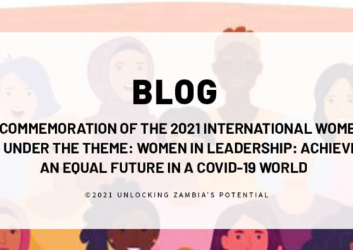 BLOG – The Commemoration of the 2021 International Women's Day under the theme- Women in Leadership- Achieving an Equal Future in a COVID-19 World