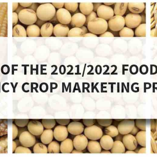 Press Statement – Analysis of the 2021/2022 Food Reserve Agency Crop Marketing Prices