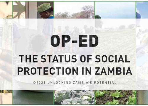 OP-ED – The Status of Social Protection in Zambia