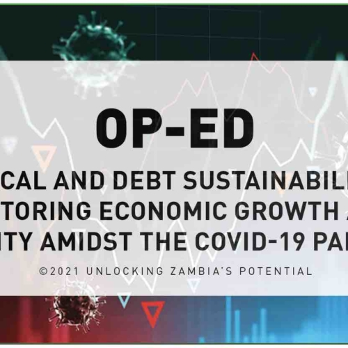 OP-ED – Fiscal and Debt Sustainability: Restoring Economic Growth and Stability Amidst the COVID-19 Pandemic