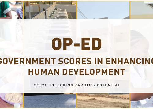 OPED – Government Scores in Enhancing Human Development