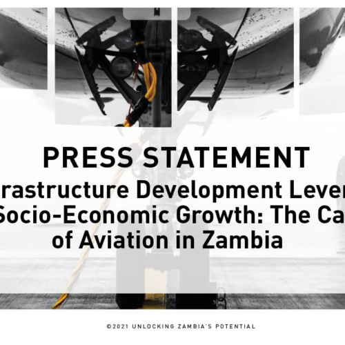PMRC Press Statement – Infrastructure Development Levers to Socio-Economic Growth: The Case of Aviation in Zambia