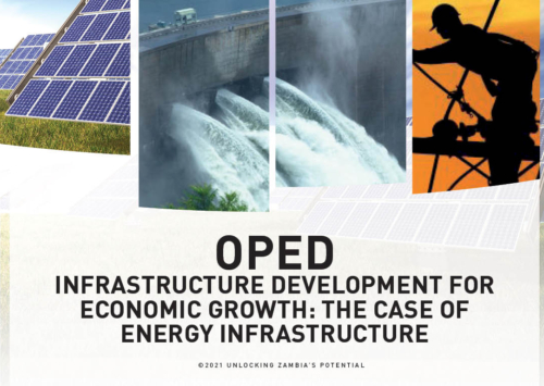 PMRC OPED – Infrastructure Development For Economic Growth- The Case Of Energy Infrastructure