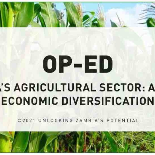 PMRC OPED – Zambia's Agricultural Sector