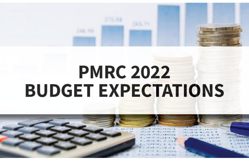 PMRC Press Statement – 2022 Budget Expectations